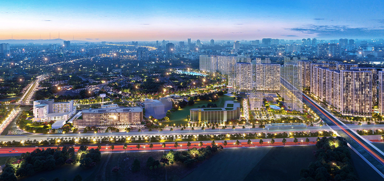 Hinh anh vuon nhat ban Zen Park Vinhomes Smart City
