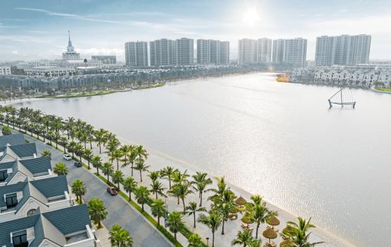 Hinh anh ho Ngoc Trai 24,5Ha Vinhomes Ocean Park