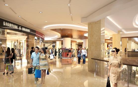 Trung tâm thương mại cao cấp