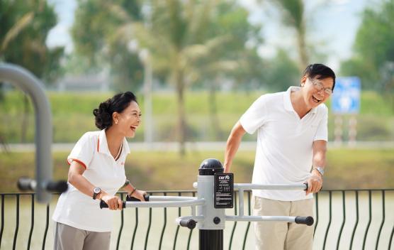 Công viên gym ngoài trời với hơn 700 máy tập