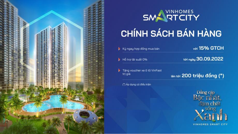 Chính sách bán hàng Vinhomes Smart City GS2