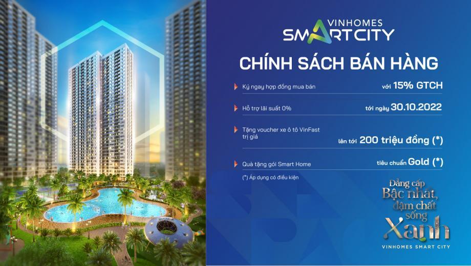 Chính sách bán hàng Vinhomes Smart City GS3