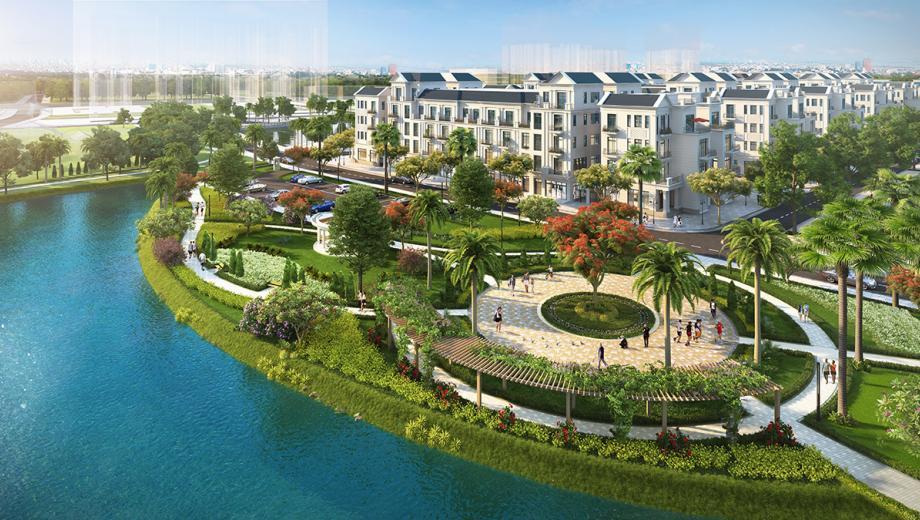 Khu hoa hồng - nguyệt quế - phong lan - Dự án Vinhomes Star City