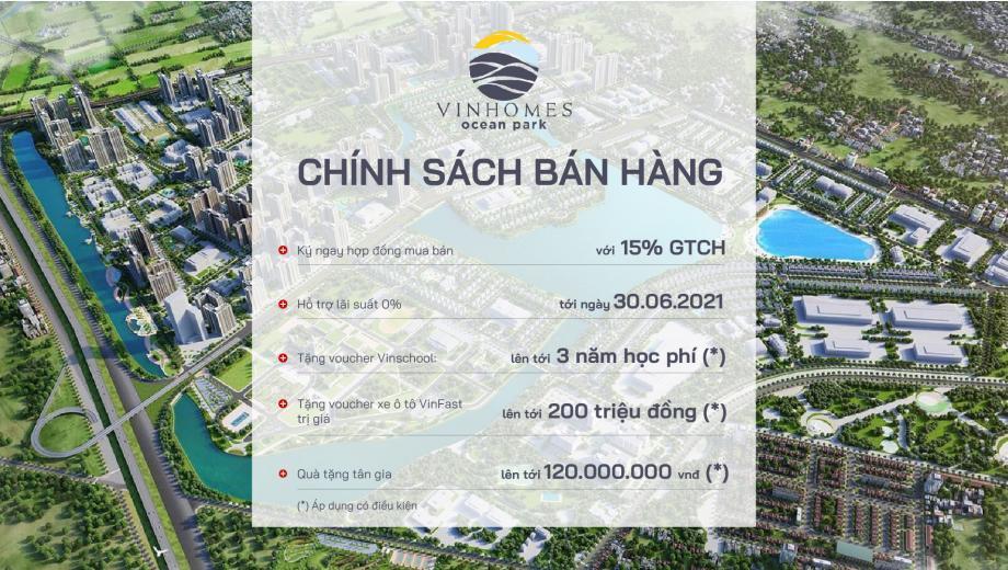 Hinh anh chinh sach ban hang gia uu dai Sapphire 2 Vinhomes Ocean Park