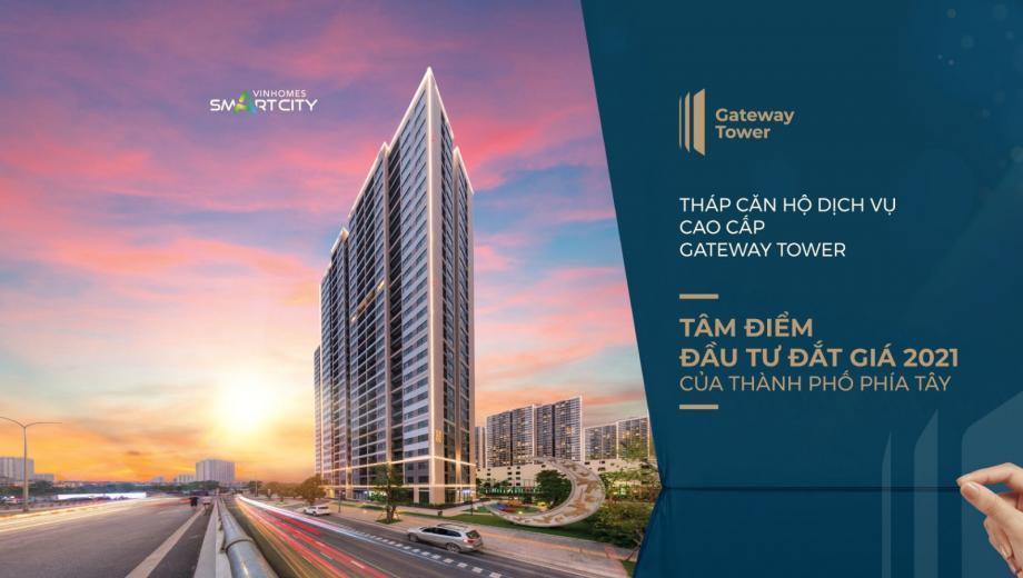 Chính sách bán hàng toà Gateway Tower tháng 10
