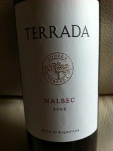 Bodega Terrada Malbec