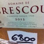 Brescou label