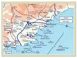 Landstigningen Provence 1944