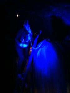 Menger-Krug, blå marie