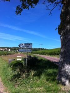 Montagny - skylt