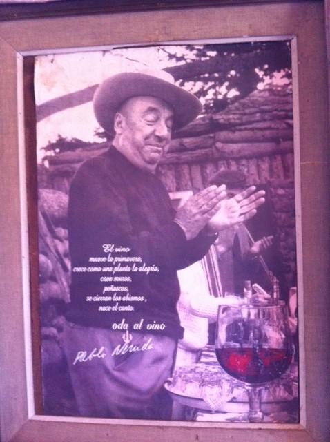 Pablo Neruda om vin