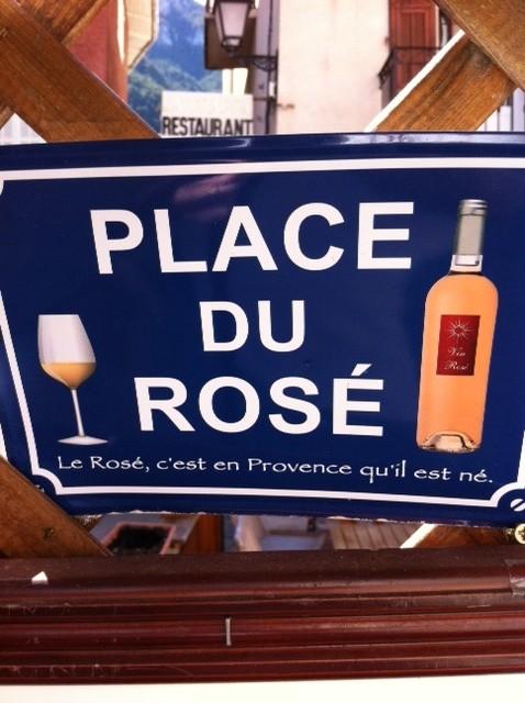 Place du rosé