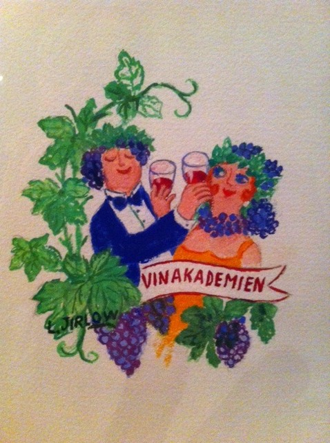 Vinakademien logga