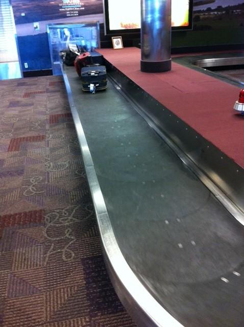 Pasco airport: bagagebandsvy