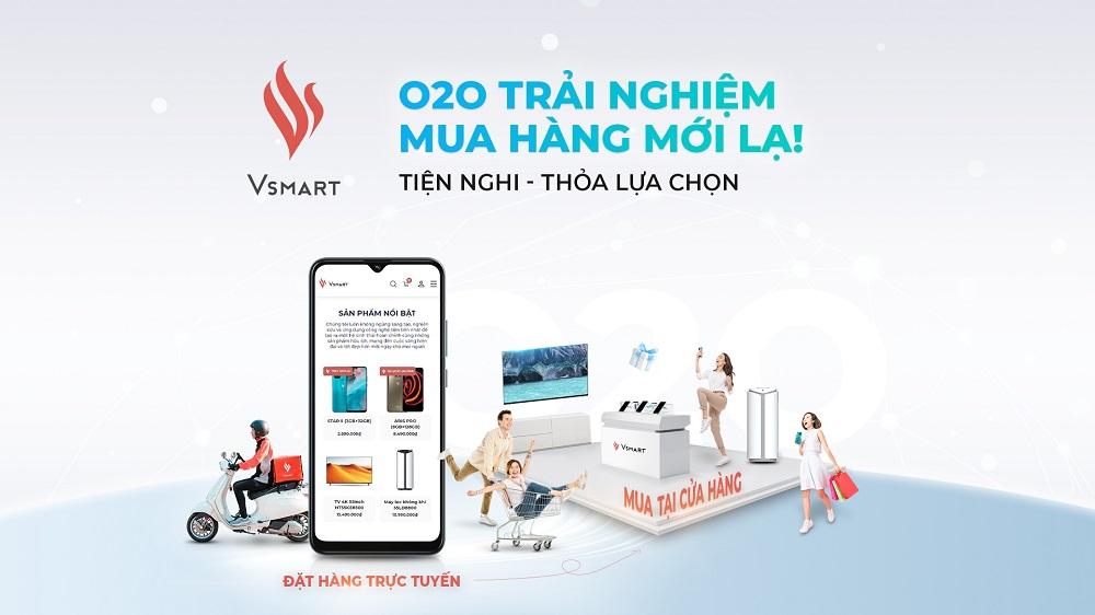 VinSmart gia tang trai nghiem khach hang tu online den offline