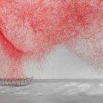 An 'Uncertain Journey' By Chiharu Shiota