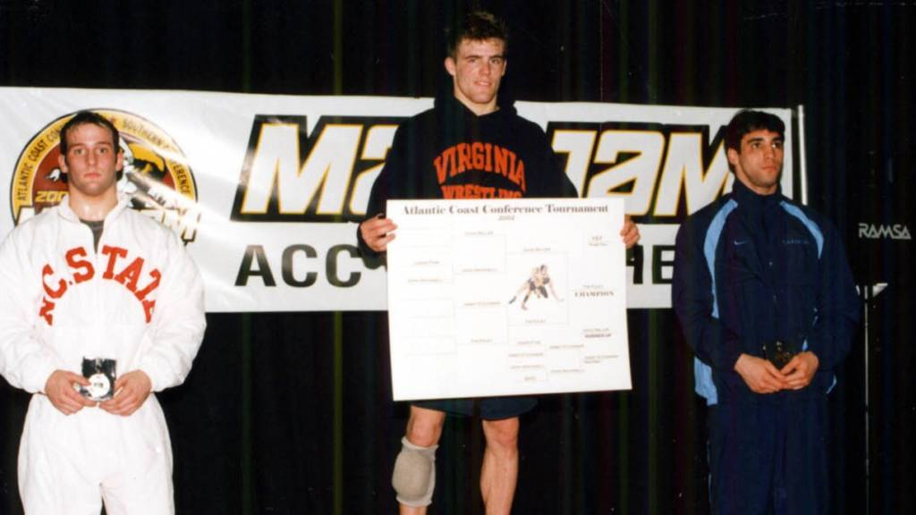 Tim Foley after winning ACC title