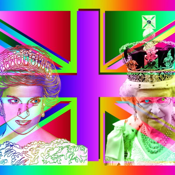 Diana and The Queen