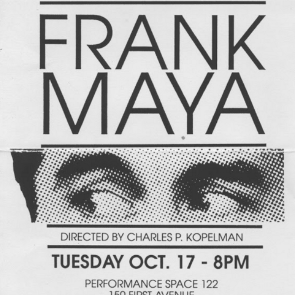 In this poster is Frank Maya