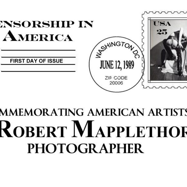 Censorship in America Series: Robert Maplethorpe Self Portrait