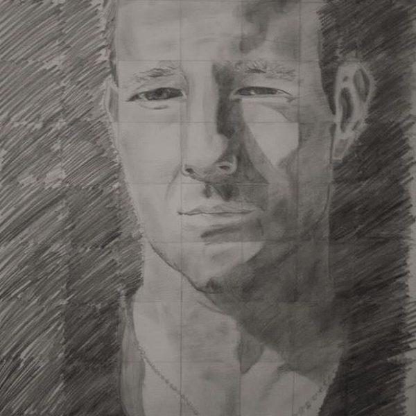 Edward Burns portrait (Grid)