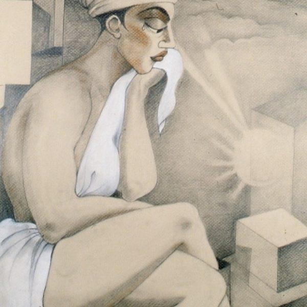Self-Portrait: Grief