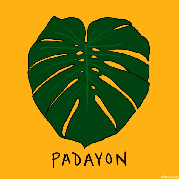 Padayon. (Padayon means carry on, or move forward, in a deeper sense it also means to keep moving, or never give up.)