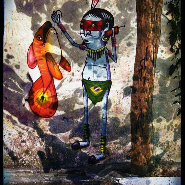 SAO PAULO'S BEST GRAFFITI ART: BATMAN'S ALLEY