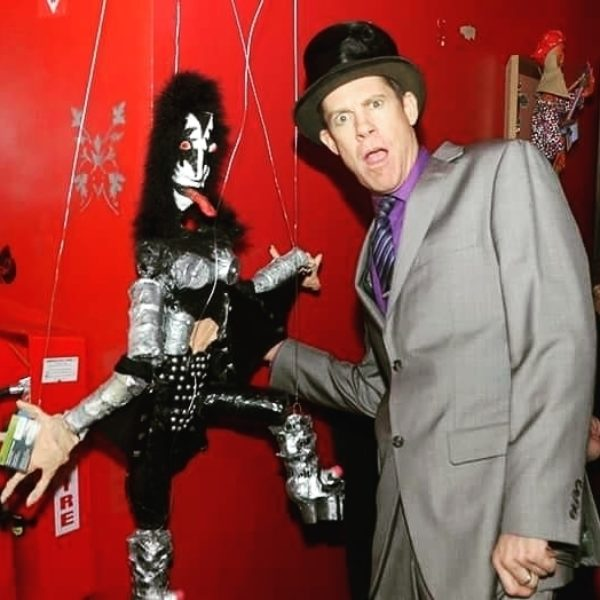 Gene Simmons Marionette at Poisson Rouge Show