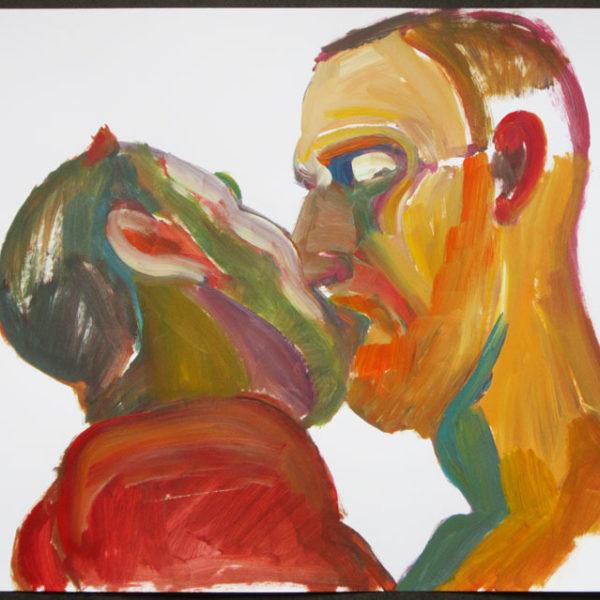 Masculine Kiss