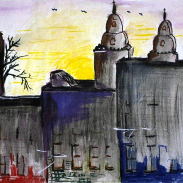 Dark Church View