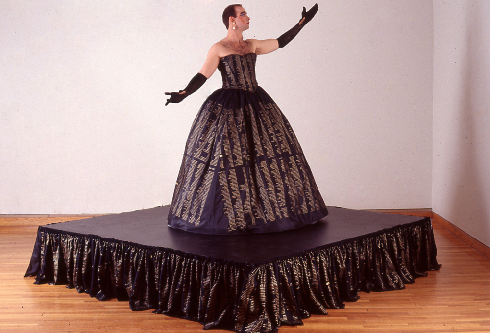 The Memorial Dress 1993 Photo By Charles Mayer