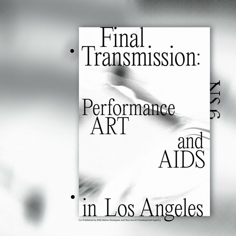 Final Transmission: Performance Art and AIDS