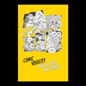 Comic velocity cover