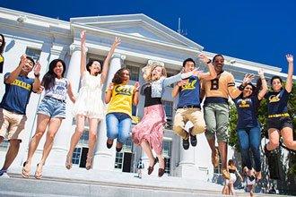 Exchange international students in Berkeley