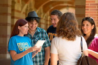 International students from the Certificate Programs at UCLA