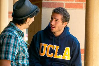 Students from the Study abroad program at UCLA