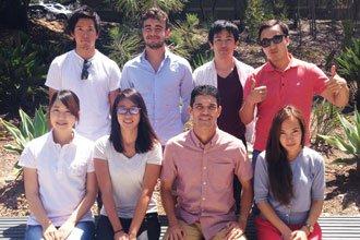 Estudiantes extranjeros de los certificate programs de UCSD Extension