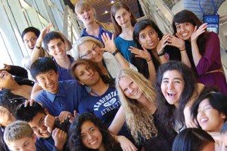estudiantes internacionales de intercambio de la Universidad de California San Diego