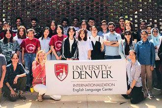 International students of the English Language Center of the University of Denver
