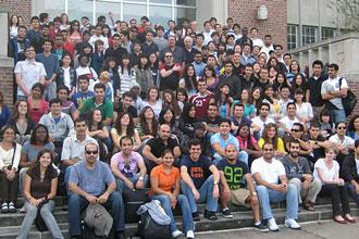Estudiantes internacionales de los programas de inglés de UF, Gainesville