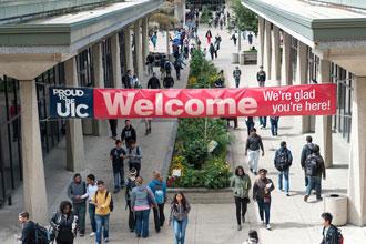 Cursos de inglés de la Universidad de Illinois Chicago son el campus principal de UIC
