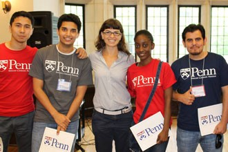 Penn students of the English Language Programs