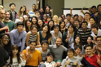 International students from the English Language Programs of Penn