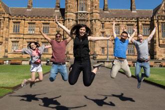 international students study english at university of sydney