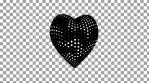 Valentine Hearts 4K Vj Loop 03