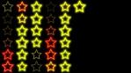 Yellow Stars Wall
