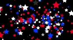 USA Particle Stars Flyby