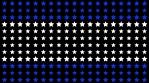 USA Star Particles Wall beats 3