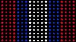 USA particle stars wall pattern 2
